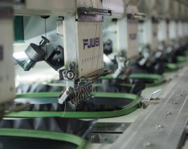Machines from the production line